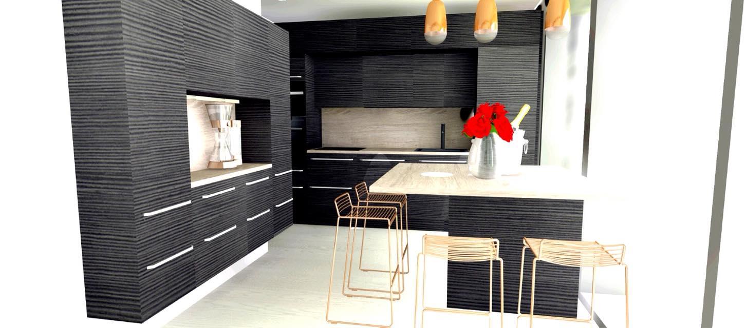 Poikkeusluvalla valmistuva Luxusasunto Helsinkiin kerrostalon kellarikerrokseen, omalla takapihalla (tumma asunto-osake)