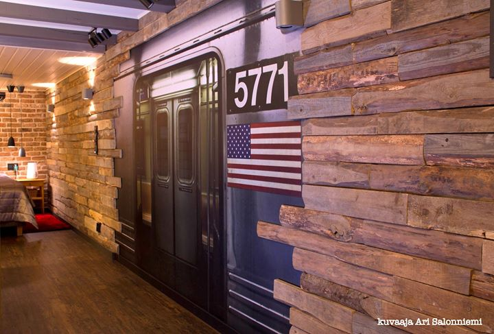 OMAKOTITALON NEW YORK LOFT- ALAKERTA. Suunnittelukohde vuodelta 2014 ja toteutu…