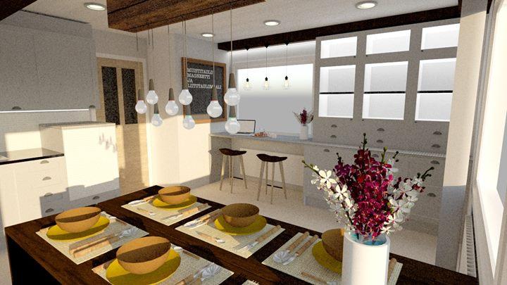 Marikan SisustusStudio maalaistalon keittiö