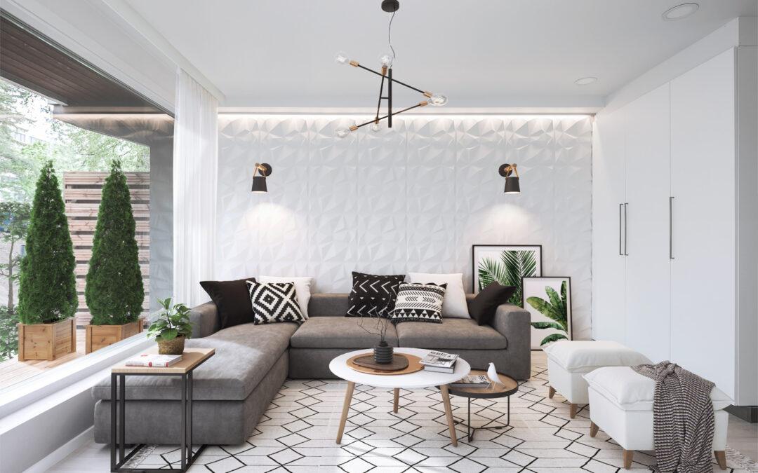 Luxus asunto, kerrostalon alakerta, tummempi puoli, Ahvenkuja 1, Espoo