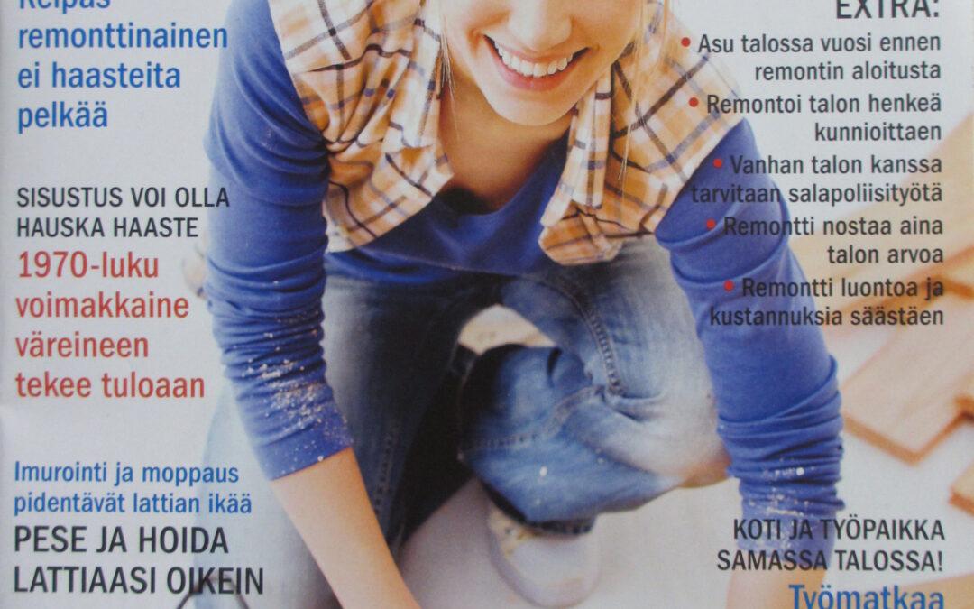 TALOMESTARI-lehti,  tammikuu 2014