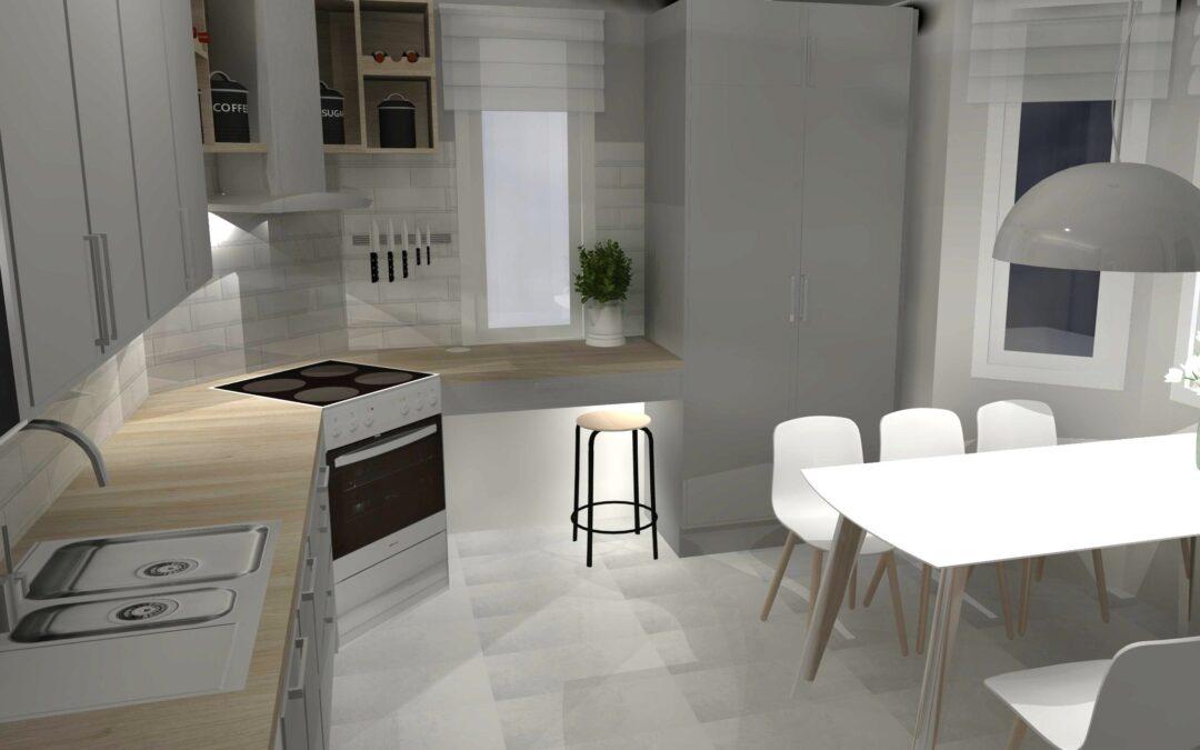 Tarvitsetko apua kokonaisvaltaiseen asunnon suunnitteluun ? Marikan SisustusStudio auttaa.