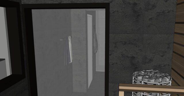 🔥🔥 Voiko kerrostaloon rakentaa saunan?  Kyllä voi, muutosluvalla. Tampereen keskustassa sijaitseva asuntoon tehdään täydellinen remontti. Wc/ suihkutilaa laajennetaan olohuoneen puolelle. Vanhan wc.n puolelle jätetään suihku ja wc istuin. Uuden tilan puolelle tehdään  allaskaluste ja kodinhoito piste. Wc.n johdosta pitää asentaa oma vesipiste bideelle. Laatoiksi valitaan tyylikkäät isot mustat laatat, sekä seiniin, että lattiaan. Kattoon lämpöpuuta, joka on samaa kuin saunassa. Saunassakin on osittain samaa isoa mustaa laattaa. Olellisiin paikkoihin käytetään pientäkin laattaa seassa teknisistä syistä. Saunan ja olohuoneen seinän väliin tehdään iso panoraama ikkuna, josta näkee olohuoneeseen, sekä ulos. Olohuoneeseesta saunaan  ei kuitenkaan näe peili-ikkunan johdosta.  Keittiön seinän poistetaan, että saadaan saarekekeittiö. Olohuoneeseen asennetaan musta kivirouheseinä ja kaikki muut pinnat maalataan. Kaikki tilat uudistetaan ja makuuhuonekin saa akustiikkaseinän, koska se sijaitsee liikennöidyn kadun varrella.  ❤️ #rakkaudellamarika  Marikan SisustusStudio  #sisustussuunnittelu  #sisustussuunnittelija  #ylöjärvi  #tampere  #pirkanmaa  #somero #turku #helsinki #suomi  #sisustus  #valaistus  #tekstiilit  #kiintokalusteet  #huonekalut #moderni #rustiikki #skandinaavinen #kesämökki #huvila  #saneerauskohde #uudiskohde  #toimisto #julkitila #yrittäjyys #naisyrittäjä #koti #viihtyisyys  www.sisustusstudio.com  # sisustussuunnittelua intohimolla &  11 vuoden kokemuksella 💯✨